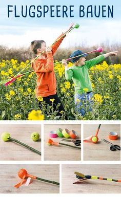 Javelin from branches - DIY Fabric Crafts