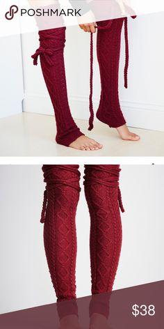FREE PEOPLE CHAMBERS LEG WARMERS NWOT Never worn Free People Accessories Hosiery & Socks