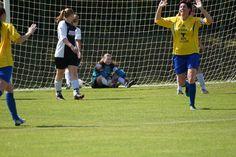 Dames voetbal 0-1