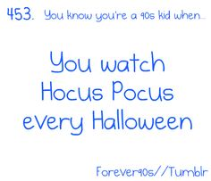 i start as soon as i'm allowed... and sometimes in between halloweens, amuck amuck amuck! fricken love it! and i'm now watching it in my head... >:)