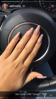 Semi-permanent varnish, false nails, patches: which manicure to choose? - My Nails Simple Acrylic Nails, Summer Acrylic Nails, Best Acrylic Nails, Acrylic Nail Designs, Simple Nails, Summer Nails, Brown Acrylic Nails, Acrylic Art, Aycrlic Nails