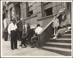 Lee Sievan (1907-1990). San Juan Hill. 1939. Museum of the City of New York. 92.70.1.