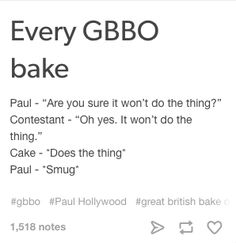 """24 Tumblr Posts About """"Bake Off"""" That'll Make You Laugh"""