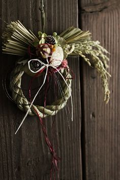 japanese new year wreath