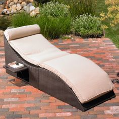 Lucia Chaise Lounge Indoor / Outdoor Patio / Lawn And Garden Furniture Set - i love this but its too expensive