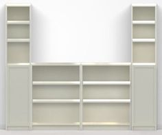 Ikea Billy bookcase with doors