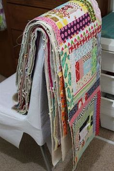 Quilt-As-You-Go... super new method to try. Direct link is http://flutterkat.com/2012/01/my-quilt-as-you-go-process-tutorial-of/
