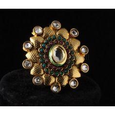Indian Bollywood, Bollywood Fashion, Gold Earrings Designs, Ring Designs, Fashion Jewellery, Fashion Earrings, Bridal Earrings, Bridal Jewelry, Ethnic Wear Designer