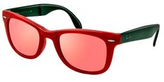 RAY-BAN RB4105 MATTE RED