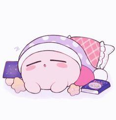 The perfect Sleep Kirby GoodNight Animated GIF for your conversation. Discover and Share the best GIFs on Tenor. Kawaii Chibi, Kawaii Art, Pokemon, Kirby Memes, Kirby Nintendo, Kirby Character, Video Game Characters, Kawaii Wallpaper, Cute Cartoon Wallpapers