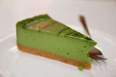 Matcha Sesame Cheesecake