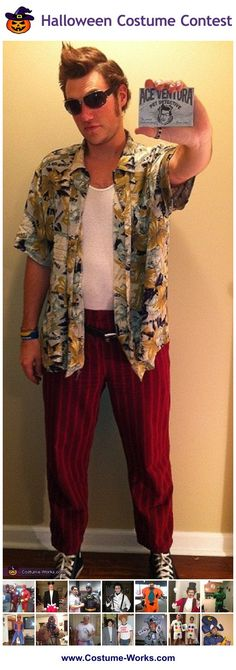 Homemade Costumes for Men - this website has tons of homemade costume ideas!