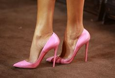 not usually a fan of pointy toes, but everything is better in pink :)