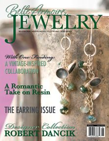 I normally don't buy this magazine because I'm not beading as much lately.  This one though was especially enticing.  I shared it with a friend the night I bought it.  He's still got it!  LOL