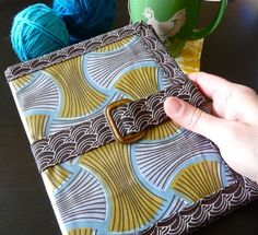 tablet cover using a Clover pattern