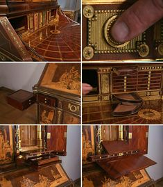 I keep waiting for a modern-day piece of furniture to top David Roentgen's transforming gaming table, but it ain't gonna happen. The only man who can top Roentgen is Roentgen himself. As evidence, have a look at the Berlin Secretary Cabinet designed and built by Roentgen (possibly with his pops,...