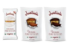 The new all-natural mini peanut butter cups from Justin's. WE ARE OBSESSED. (Yes, that warranted all caps.)