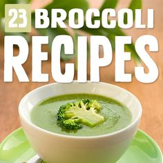 23 Most Delicious Ways to Eat Broccoli - Broccoli Wokly - Brokkoli Rezepte Paleo Broccoli Recipe, Broccoli Recipes Sauteed, Frozen Broccoli Recipes, Garlic Roasted Broccoli, Broccoli Salads, Mushroom Broccoli, Broccoli Chicken, Recipes