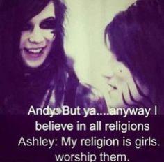 Black Veil Brides ~ Oh Ashley XD