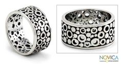 Men's Sterling Silver 'Illusion' Ring (Indonesia) - Overstock™ Shopping - Great Deals on Novica Rings