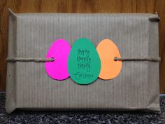 Gift wrap for prizes