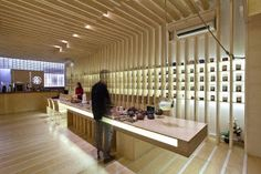 Marzua: Salón de té Tsai por Georges Batzios Architects