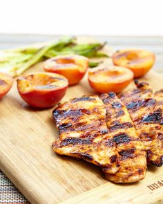 Pantry has components for Apricot-Glazed Grilled Chicken Cutlets   Planit Northwest Chicken Cutlet Recipes, Chicken Cutlets, Grilled Fruit, Grilled Chicken, Grilling Sides, Turkey Recipes, Grilling Recipes, Entrees, Main Dishes