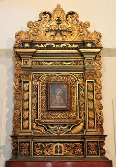 Santo Domingo, Catedral: Retablo de Nuestra Señora de la Altagracia