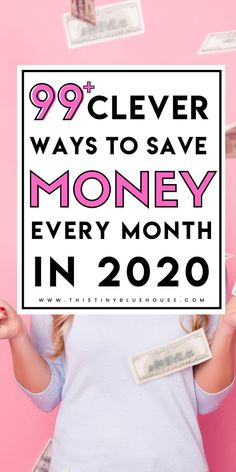 Are you looking for realistic ways to save more cash in Here are 100 clever ways to save some extra money each month! Save Money On Groceries, Ways To Save Money, How To Make Money, Make Money Blogging, Money Saving Tips, Money Tips, Extra Money, Extra Cash, Savings Planner