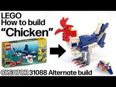 Lego Creator, The Creator, Lego Craft, Lego Models, Lego Moc, Lego City, Monsters, Toys, Youtube