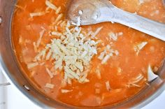 30 min Buffalo Chicken Soup-looks to die for-LOVE Buffalo Chicken anything!!