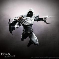 Marvel Moon Knight, Marvel Cinematic Universe, Comics Universe, Comic Art, Comic Books, Knight Art, Marvel Art, Digimon, First World