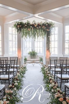 23 of the Most Elegant Church Wedding Aisle Flowers That Will Make Your Friends Jealous Tip 398 Aisle Flowers, Wedding Ceremony Flowers, Wedding Ceremony Decorations, Wedding Centerpieces, Wedding Arches, Wedding Chuppah, Aisle Decorations, Wedding Reception, Wedding Altars