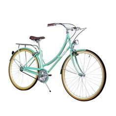 ZF Bikes | Civic Women Mint Green City Series Bike