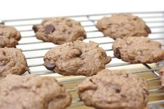 Chocolate Junior Mint Amish Friendship Bread Cookies | www.friendshipbreadkitchen.com