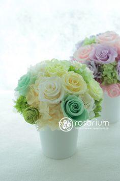 プリザーブドフラワーアレンジ rosarium.jp