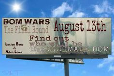 The countdown has begun…  Only 11 more days until #domwars Round SIX is released!!  #lucianbane #ineffabledom #adenlowe