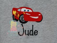 A personal favorite from my Etsy shop https://www.etsy.com/listing/233108516/red-race-car-shirt-personalized-shirt