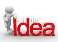 Personaje al lado de la palabra IDEA.