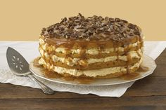 You're sure to win rave reviews when you serve this spectacular pumpkin cake.