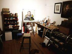 Desk, Studio, Furniture, Instagram, Home Decor, Desktop, Decoration Home, Room Decor, Table Desk