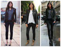 black leather jacket styles