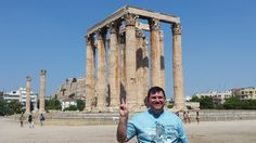 Atenas - Fotografía: Paulo Portugal Mykonos, Santorini, Portugal, Louvre, Building, Travel, Athens Greece, Greek Isles, Cruise