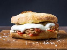 The perfect meatball sandwich first needs perfect meatballs and great sauce. Once you have those two in place, the rest is a matter of construction and detail. Here's how we like to build ours.