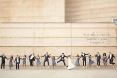 Wedding Photography Ideas : What a fun shot! by Caroline Tran #Photography #Caroline_Tran #Wedding
