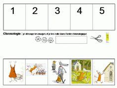 Maternelle: Le loup, la chèvre et les sept chevraux, exploitation en mathématiques