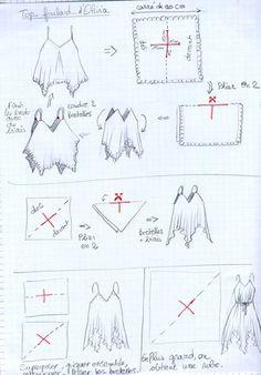 J'étais en train de feuilleter un superbe livre sur l'histoire de la mode…