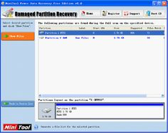 Recover lost data from USB flash drive with powerful data recovery freeware, MiniTool Power Data Recovery.