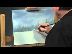 Paint-Along: How to Paint a Winter Scene in Oils, Part 2