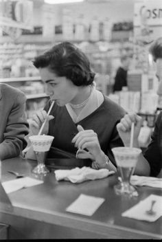 Woolworth soda fountains--eating and drinking at the counters